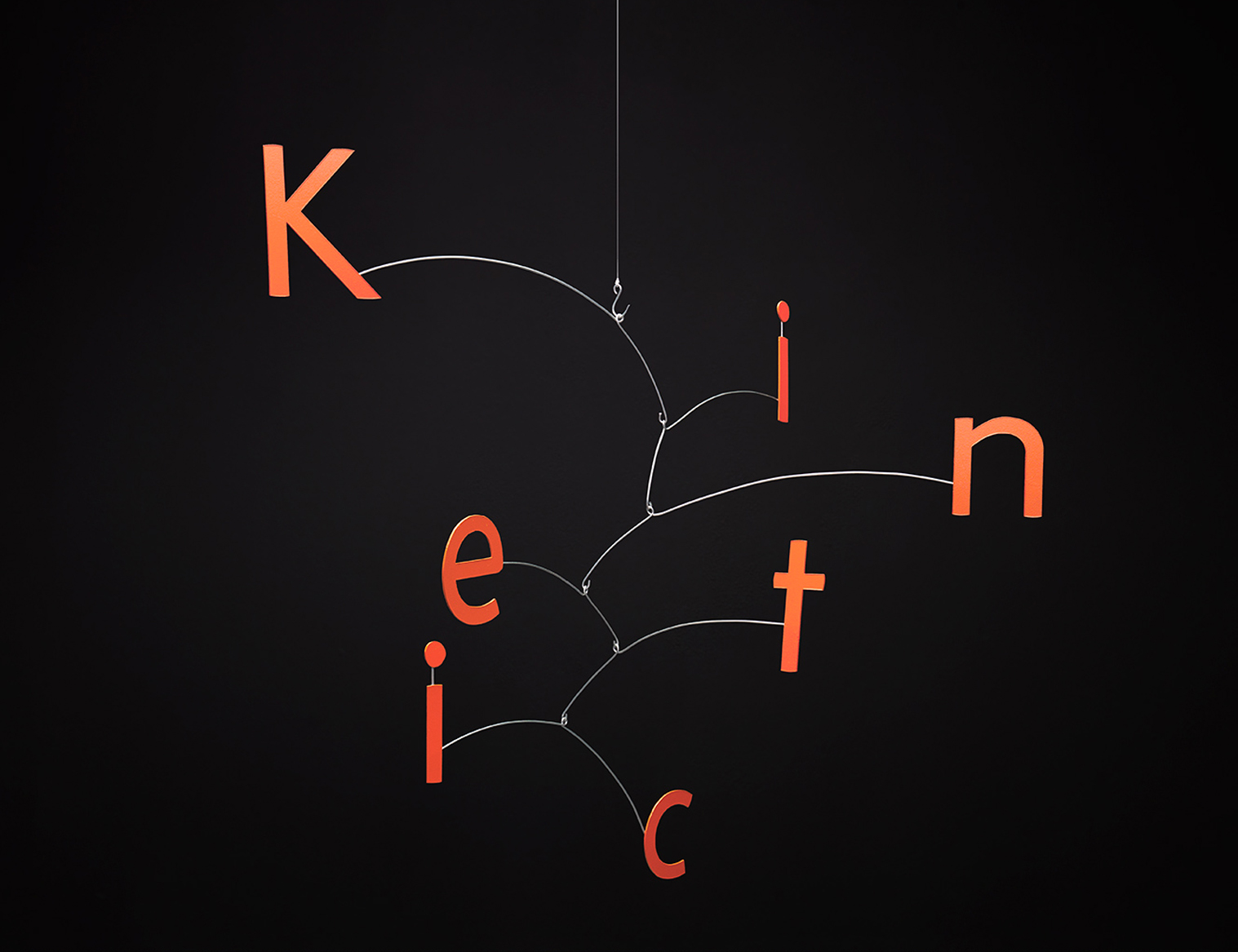Kinetic – Calder inspired typeface